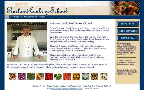 Rusland Cookery School